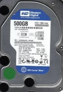 HDD Laptop Ide WD 500GB
